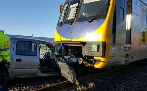 Train Crashes Into Broken-down Car At Unanderra