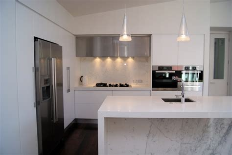 paneled kitchen cabinets marble and white kitchen contemporary kitchen 1409
