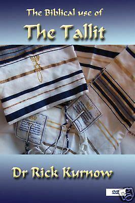 jewish messianic dvd biblical  tallit prayer shawl