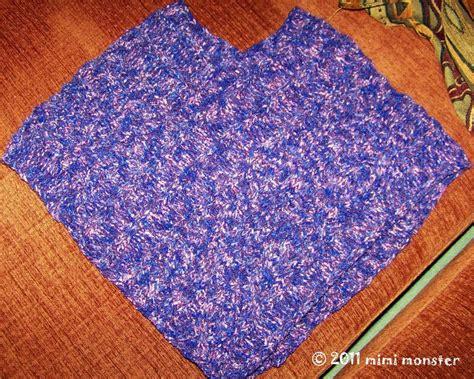 comment faire un pouf en tricot comment tricoter un poncho