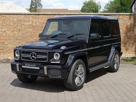 Explore the amg g 63 suv, including specifications, key features, packages and more. 2017 Used Mercedes-Benz G63 AMG | Obsidian Black Metallic