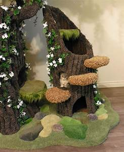 Enchanted Tree Stump Condo For Your Cats