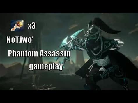 not iwo phantom assassin 3 rapiers gameplay dota 2 youtube