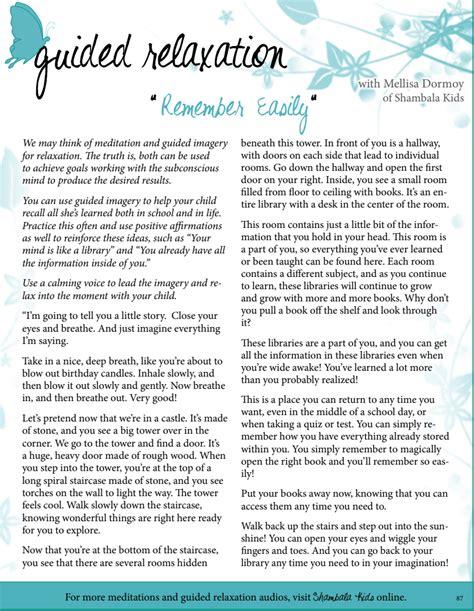 Guided Meditation Script For Memory — Green Child Magazine