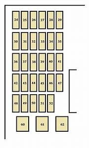 Toyota Camry  2002  U2013 2003   U2013 Fuse Box Diagram