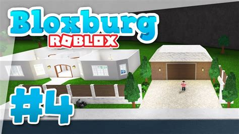Bloxburg #4  New Garage Build (roblox Welcome To Bloxburg