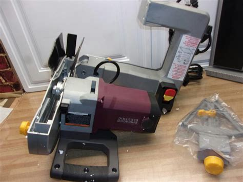 Chicago Electric Tile Saw 69275 by Chicago Electric Power Tools 10 In 2 5 Hp Tile Brick Saw
