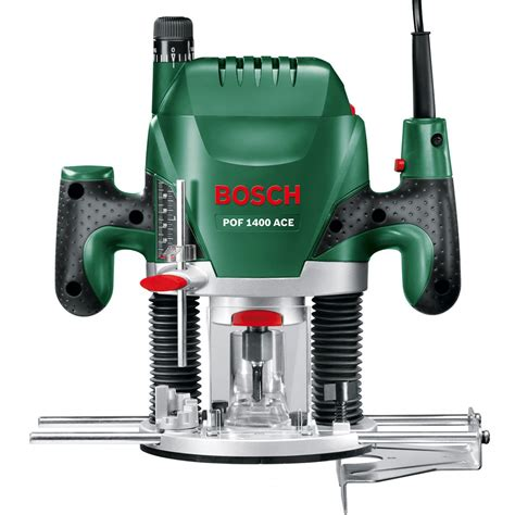 bosch green pof 1400 ace 240v plunge router 1 4 quot collet howe tools uk