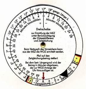 Sonnenuhr Berechnen : eine l ngengraddrehscheibe helios ~ Themetempest.com Abrechnung