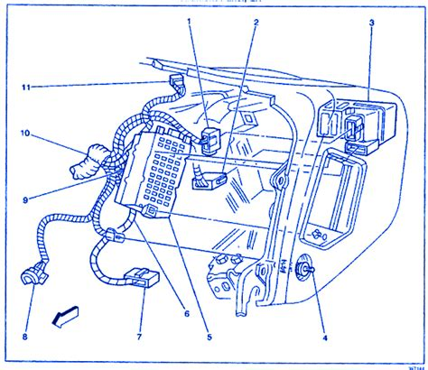 Daewoo Lanos Engine Electrical Circuit Wiring Diagram