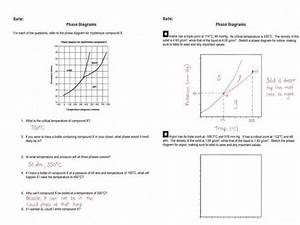 Phase Diagram Worksheet With Answers