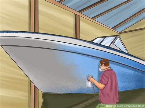 How To Build A Boat Plywood by How To Build A Plywood Boat 8 Steps With Pictures Wikihow
