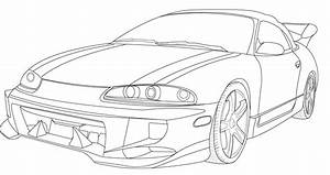 The Best Free Mitsubishi Drawing Images  Download From 75