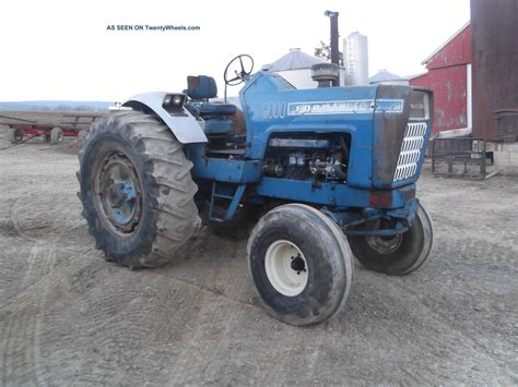 ford  diesel tractor