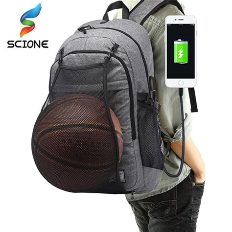 outdoor mens sports gym bags basketball backpack school