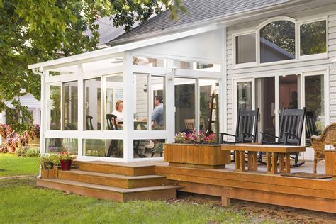 sunrooms and patios collection vinyl four season sunrooms home ideas collection