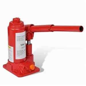 Hydraulic Bottle Jack 2 Ton Red Car Lift Automotive