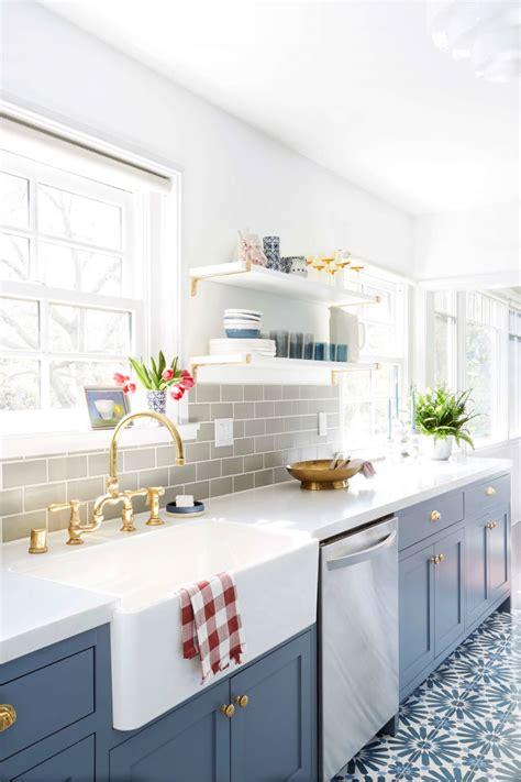 open shelf kitchen design how to style open shelving emily henderson 3749