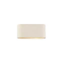 dar lighting axt372 axton large oval ceramic wall fitting castlegate lights