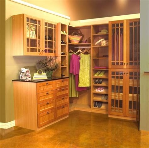 organize to go real wood closet organizer with shaker wood