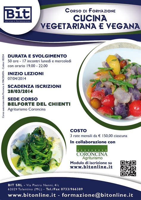 corsi cucina vegetariana torino corso cucina vegetariana vegana bit