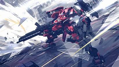 Mech Core Armored Mecha Anime Gundam Wallpapers