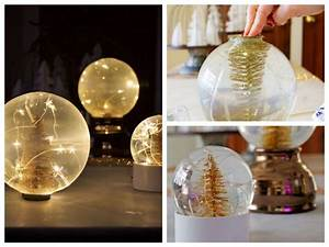 Boule De Noel A Fabriquer : comment fabriquer une boule neige 70 id es pour une ~ Nature-et-papiers.com Idées de Décoration