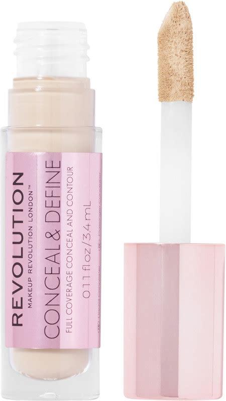 makeup revolution conceal define full coverage concealer