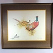 Charles E. Murphy pencil signed color lithograph of a Ring ...