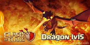 New Clash of Clans Update: Dragon level 5 - July 1st 2015