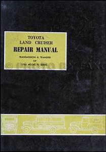 1964 Toyota Land Cruiser Transmission Repair Manual Original