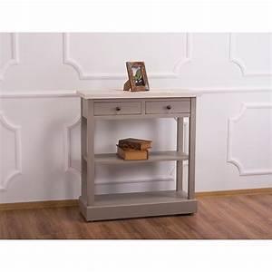 Console De Cuisine : console de cuisine en pin massif 2 tiroirs le d p t ~ Melissatoandfro.com Idées de Décoration