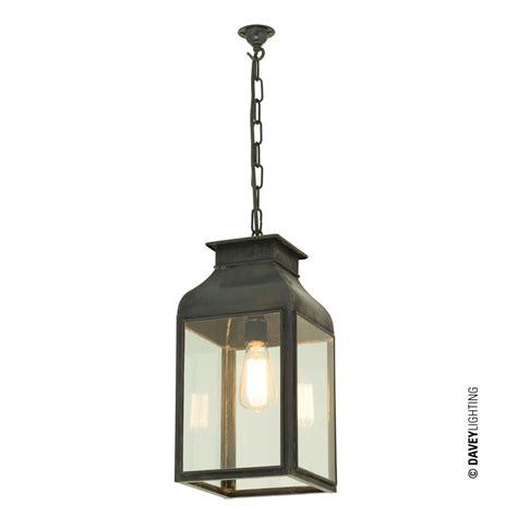 large lantern pendant light pendant light lantern weathered brass clear glass by