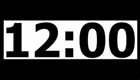 20 Minute Countdown Timer With Alarm