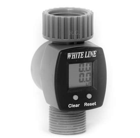 Digitaler Wasserzähler Lcd Für Den Garten Wasserverbrauch