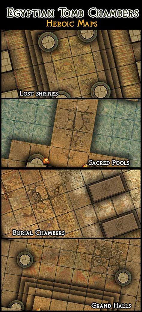 3d Dungeon Tiles by Heroic Maps Modular Kit Chambers Heroic