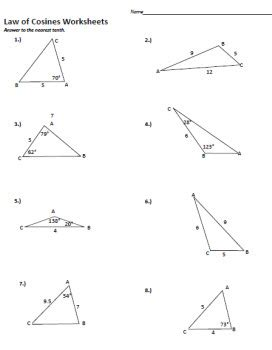 and cosine worksheets worksheets math resources and math