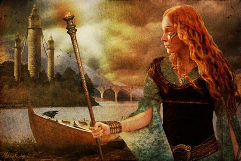 woman   man celtic warrior scathach teacher