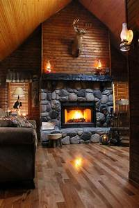50 log cabin interior design ideas cabin pinterest With interior decorating a log cabin