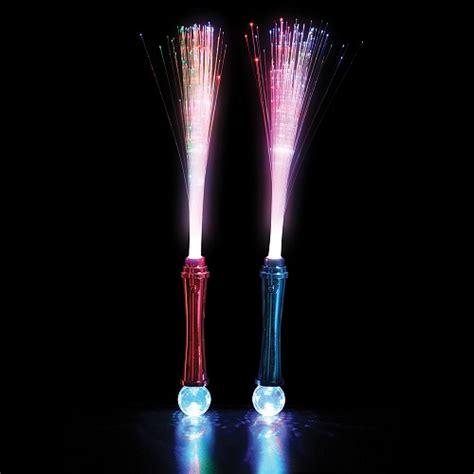le a fibre optique multicolore baguette 224 fibre optique multicolore paquet de 12 lumi 232 re magique