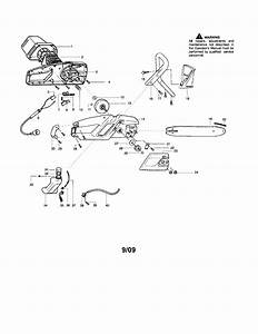 Craftsman Model 358341170 Chainsaw  Electric Genuine Parts
