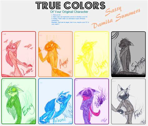 Colors Meme - true colors meme by ispazzykitty on deviantart