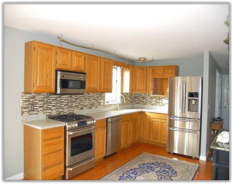 kitchen painting ideas with oak cabinets kitchen paint colors with oak cabinets home design ideas