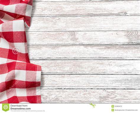 les fonds de cuisine fond de table de cuisine avec le tissu de pique