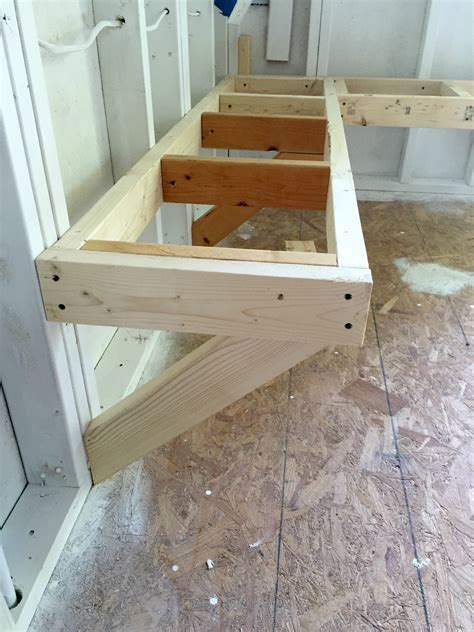 One Room Challenge Bench Building   At Home with The Barkers