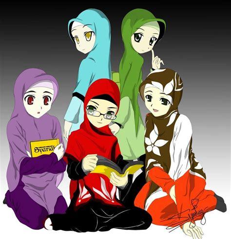 anime islami terbaru kartun sahabat muslimah ama s note