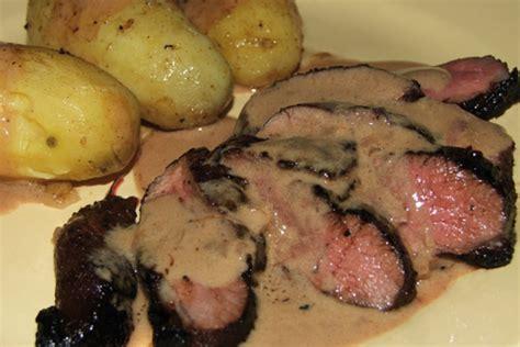 cuisiner le magret de canard au four magret de canard à l armagnac l 39 atelier culinaire gourmand