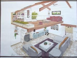 conseil dessin decoration interieur plan planche With deco de terrasse exterieur 16 mezzanine chambre bureau design industriel cdesign