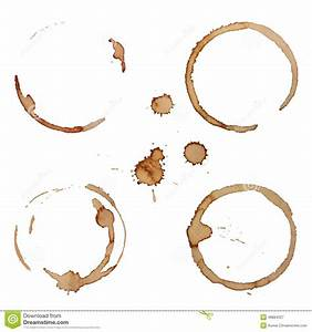 Vector Coffee Stain Rings Set Stock Vector - Image: 48884327