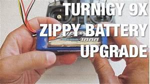 Turnigy 9x Zippy Battery Upgrade
